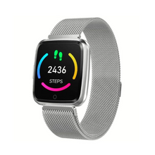 Load image into Gallery viewer, P80 Fitness Tracker Heart Rate Monitor Silver