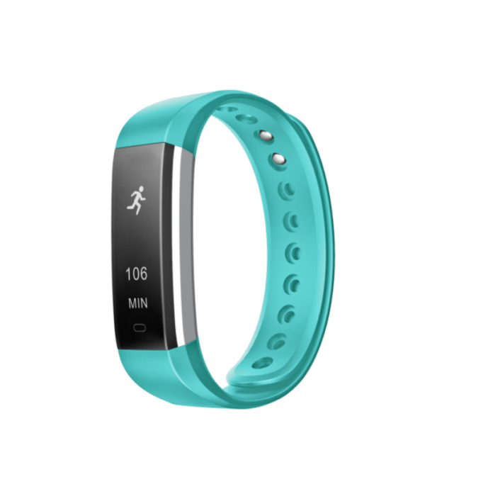 Fusion Fitband Heart Rate Monitor Smart Bracelet Teal
