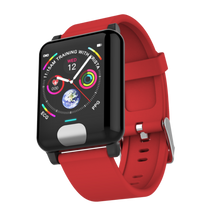 Load image into Gallery viewer, ECG P2 Fitness Tracker Watch Heart Rate Monitor Red