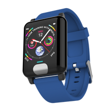 Load image into Gallery viewer, ECG P2 Fitness Tracker Watch Heart Rate Monitor Blue Marine