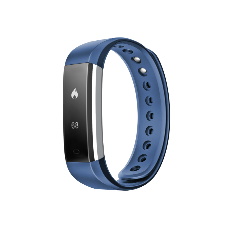 Fusion Fitband Heart Rate Monitor Smart Bracelet Blue