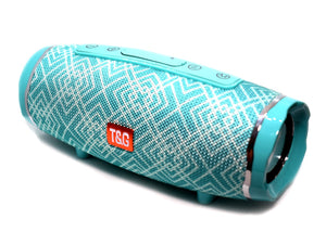 T&G 145 Bluetooth Wireless Speaker Teal with Design
