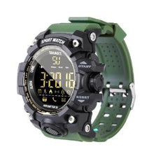 Load image into Gallery viewer, B-Shock Army Green Smartwatch for Sport Military Grade looking watch with Gravity Sensor