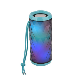 T&G LED Luminous Bluetooth Wireless Speaker Teal