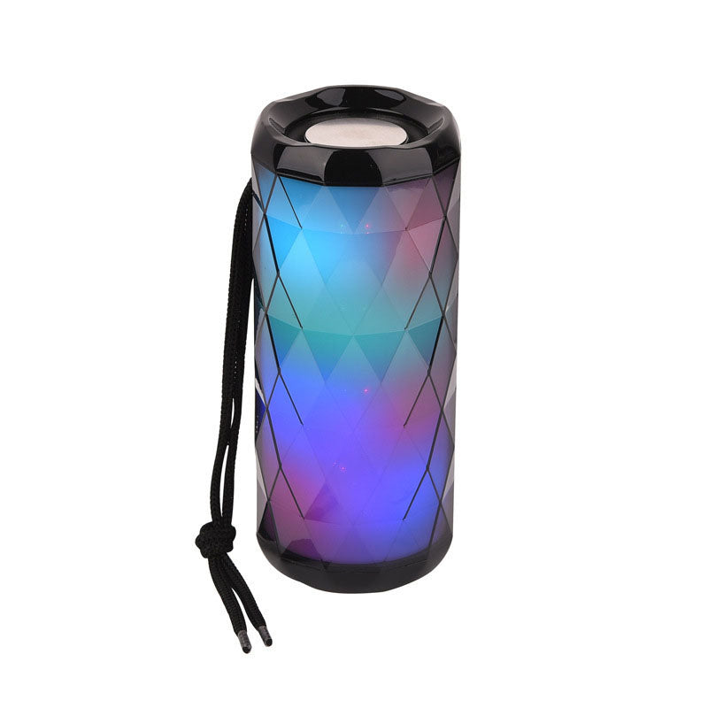 T&G LED Luminous Bluetooth Wireless Speaker Black