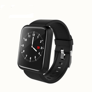 SPORT Fitness Tracker Watch T3 Heart Rate Monitor Black