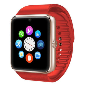 Android Smartwatch V3 red-gold