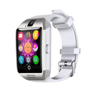 Smartwatch S2 Android & iPhone compatible Silver on White