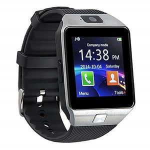 Smartwatch S1 for Android Silver on Black