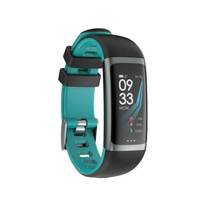 PK2 Smart Fitness Tracker Heart Rate Monitor PK2 Blue