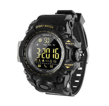Load image into Gallery viewer, B-Shock Black Smartwatch for Sport Military Grade looking watch with Gravity Sensor