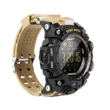 Load image into Gallery viewer, B-Shock Sand Camel Smartwatch for Sport Military Grade looking watch with Gravity Sensor