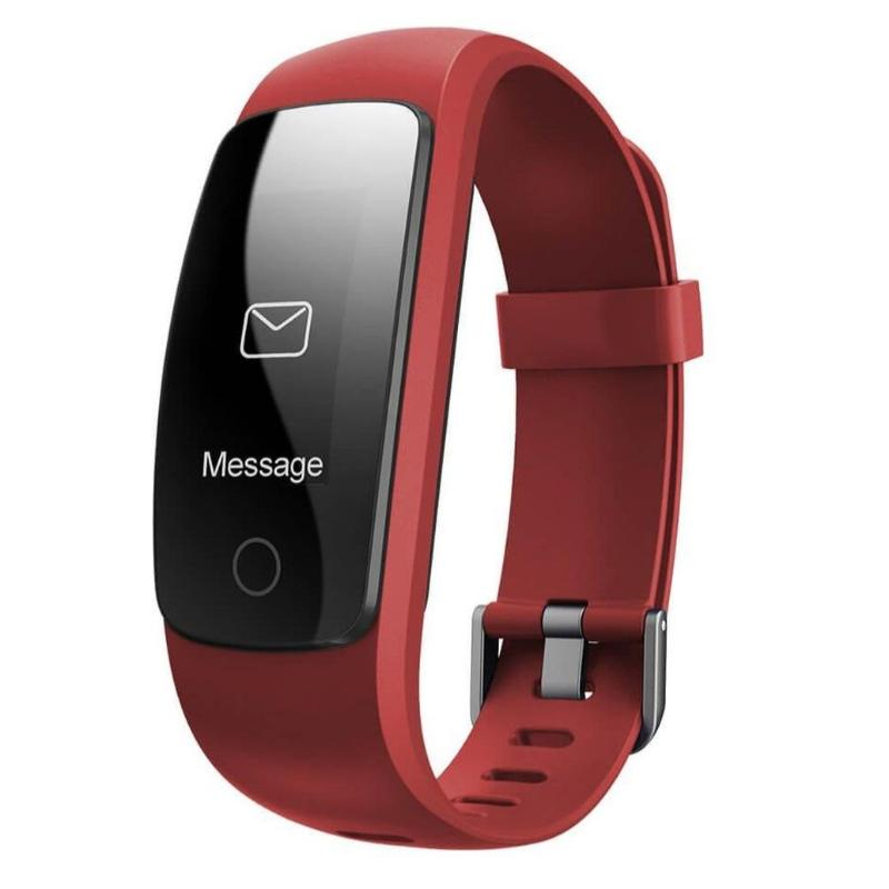 veryfit 2.0 id107 hr+ smart band bracelet fitness tracker GPS Heart rate Monitor Pressure Step Tracker Run Hiking Call & SMS Notification red