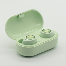 Load image into Gallery viewer, TW60 Bluetooth Wireless Earbuds Noise Cancelling Headset Green
