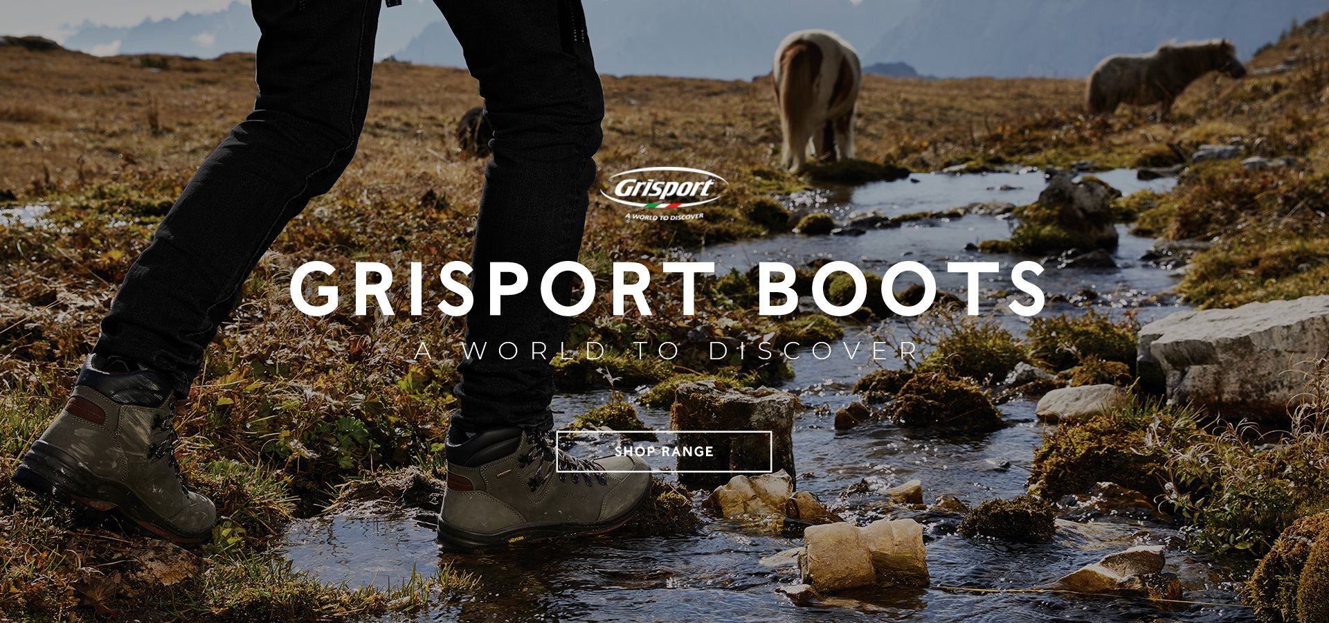 GRISPORT BOOTS. A world to discover