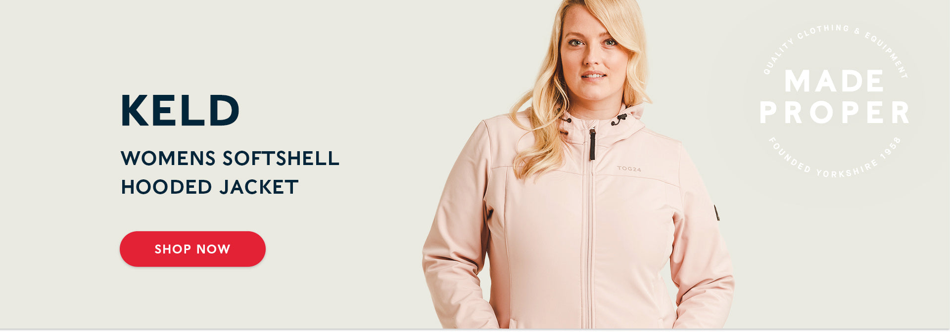 Keld Womens Softshell Hooded Jacket | Shop now