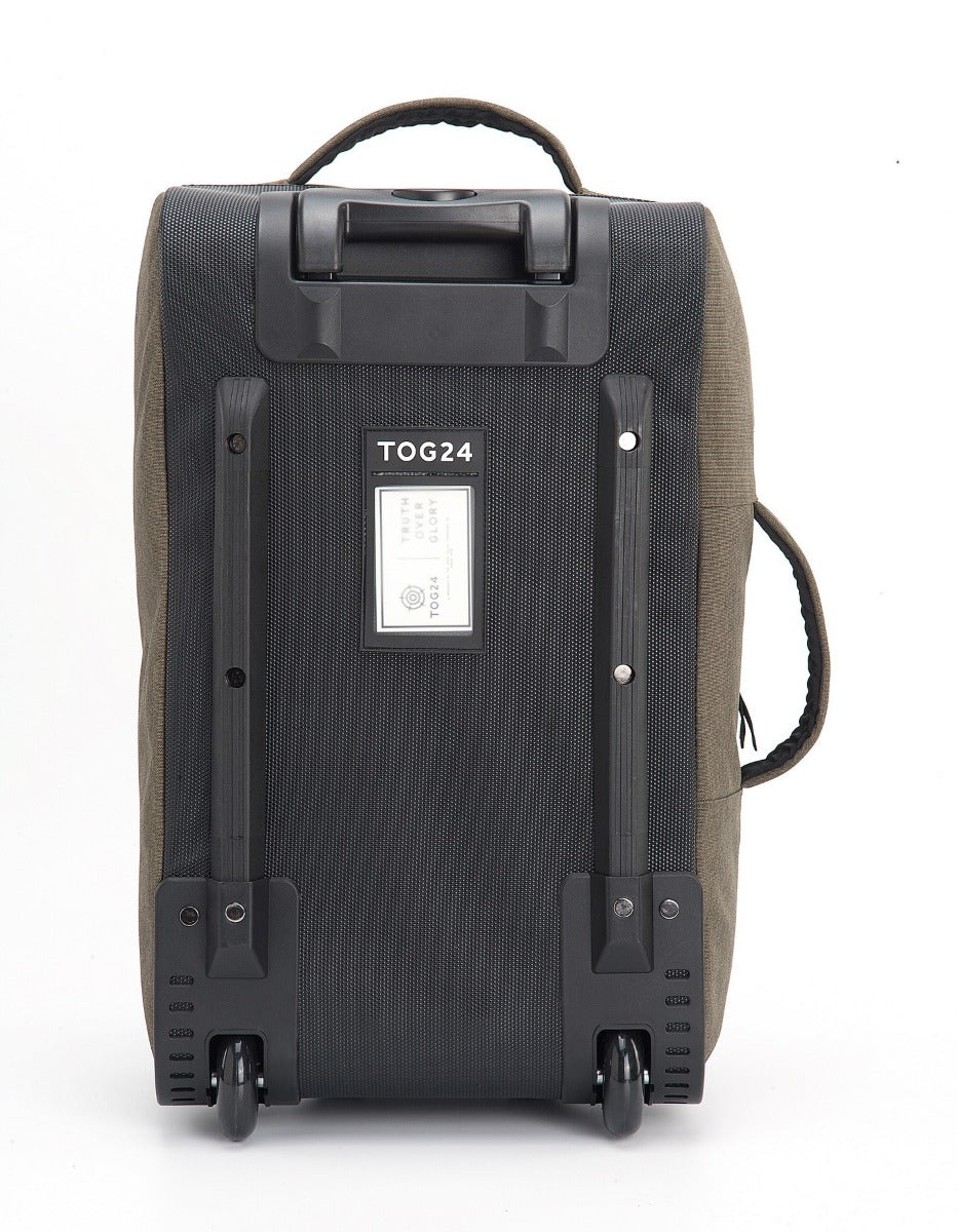 Spurrier Carry On Roller Bag - Dark Khaki Marl image 4