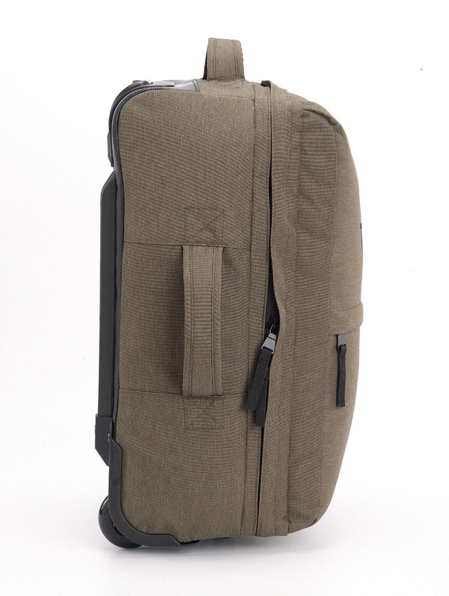 Spurrier Carry On Roller Bag - Dark Khaki Marl image 5