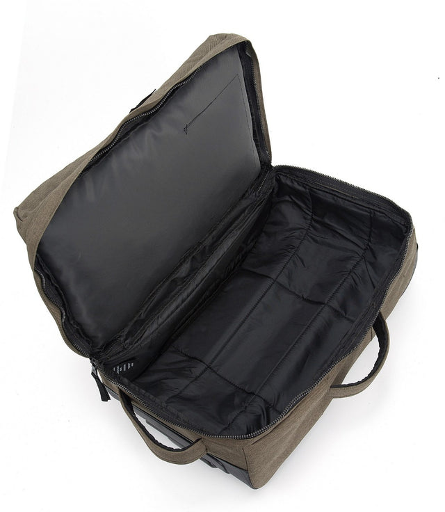 Spurrier Carry On Roller Bag - Dark Khaki Marl image 11