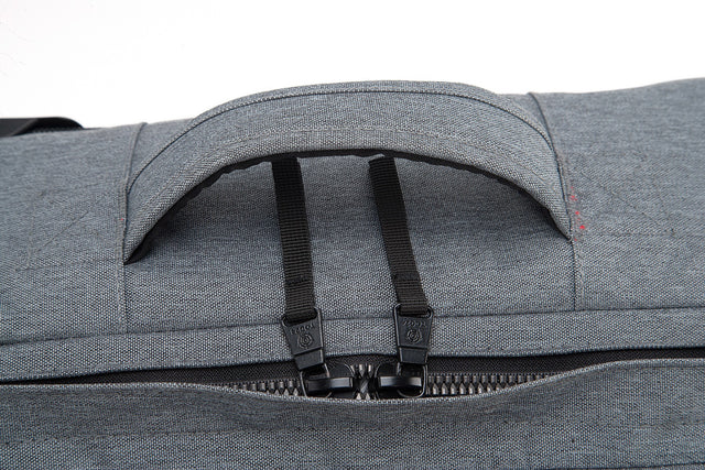 Spurrier Carry On Roller Bag - Dark Grey Marl image 7