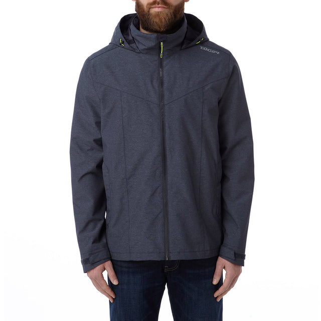 Acrid Mens Milatex Jacket - Navy Marl image 2