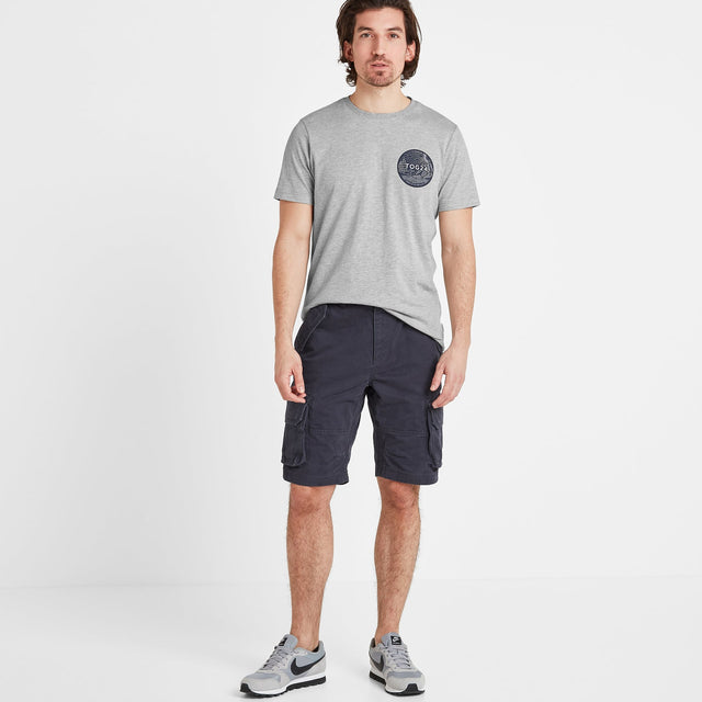 Albury Mens Shorts - Midnight image 1