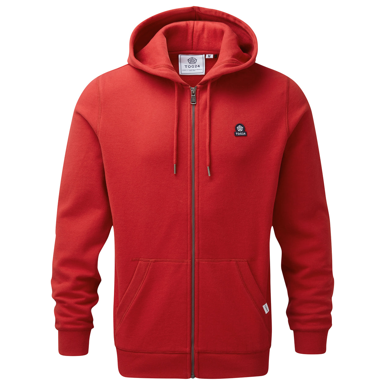 Alden Mens Hoody - Chilli Red image 4