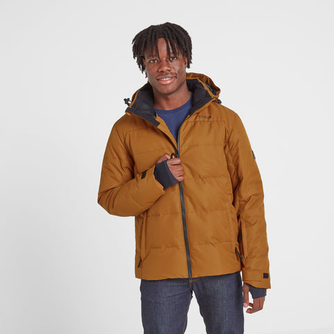 Allerton Mens Winter Jacket - Amber