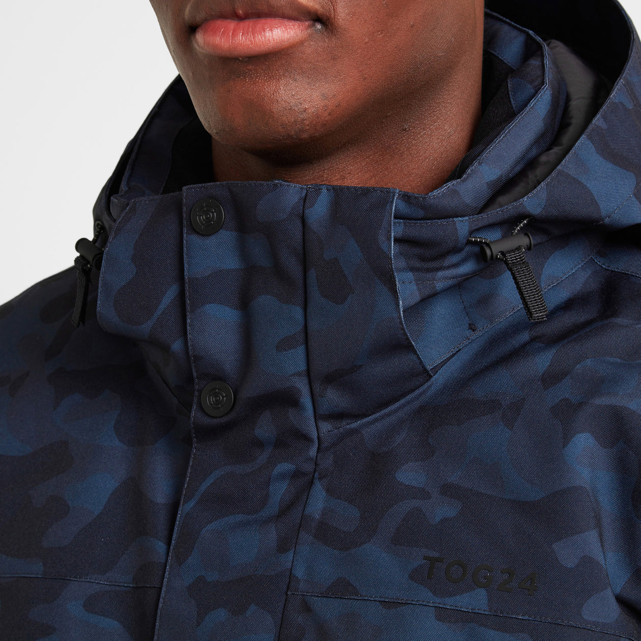 Altitude Mens Ski Jacket - Navy Camo image 4