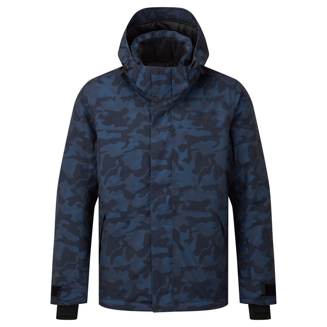 Altitude Mens Ski Jacket - Navy Camo image 5