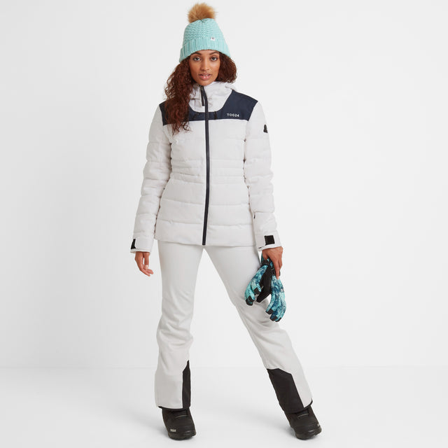Anvil Womens Jacket - Optic White image 2
