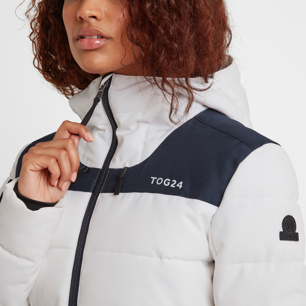 Anvil Womens Jacket - Optic White image 4