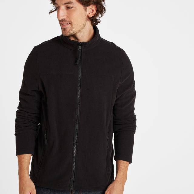 Appleby Mens Fleece Jacket - Black image 1