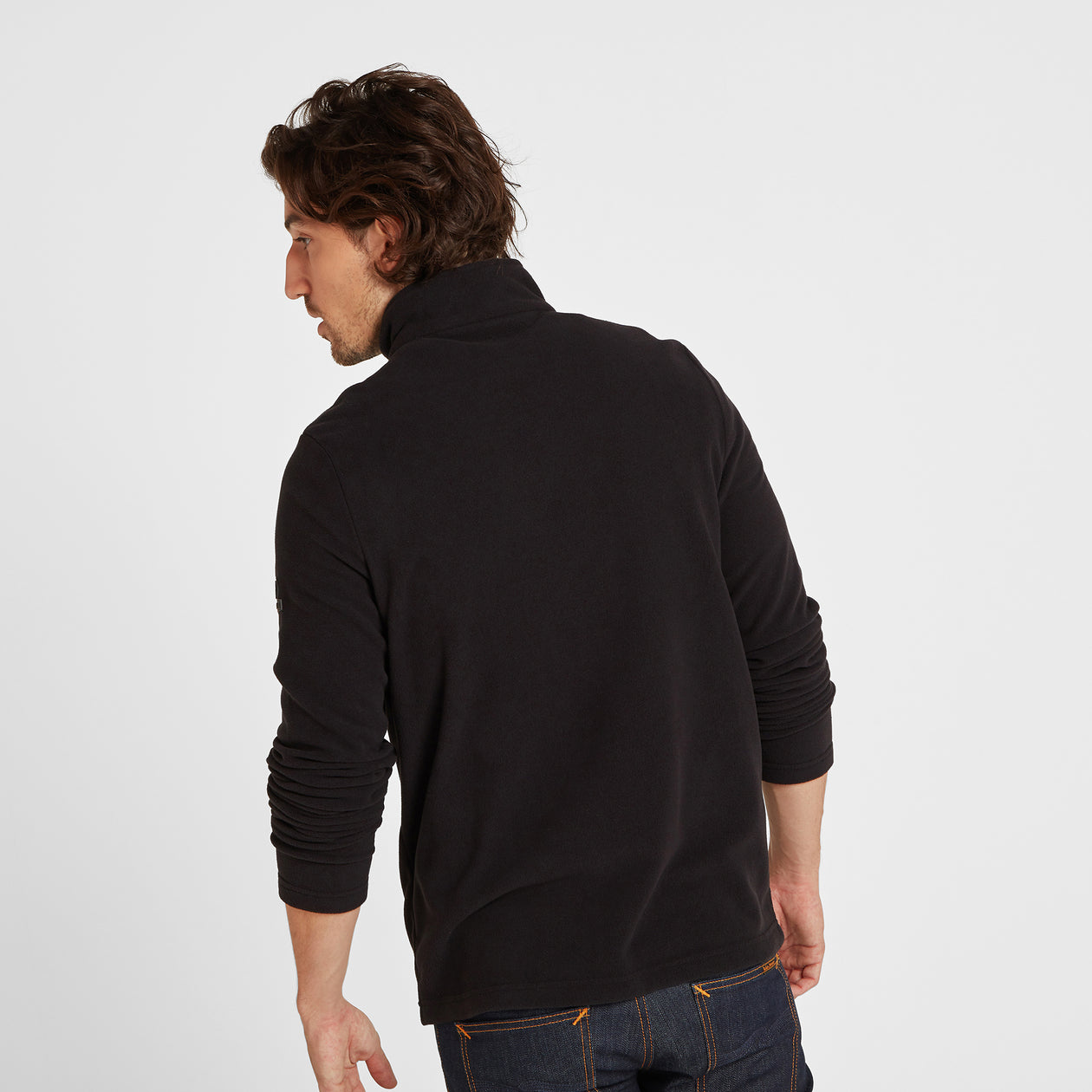 Appleby Mens Fleece Jacket - Black image 4