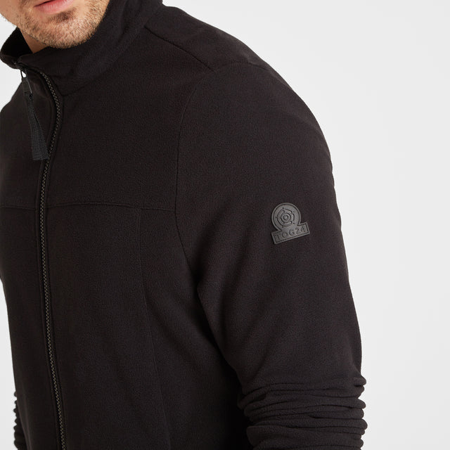 Appleby Mens Fleece Jacket - Black image 5