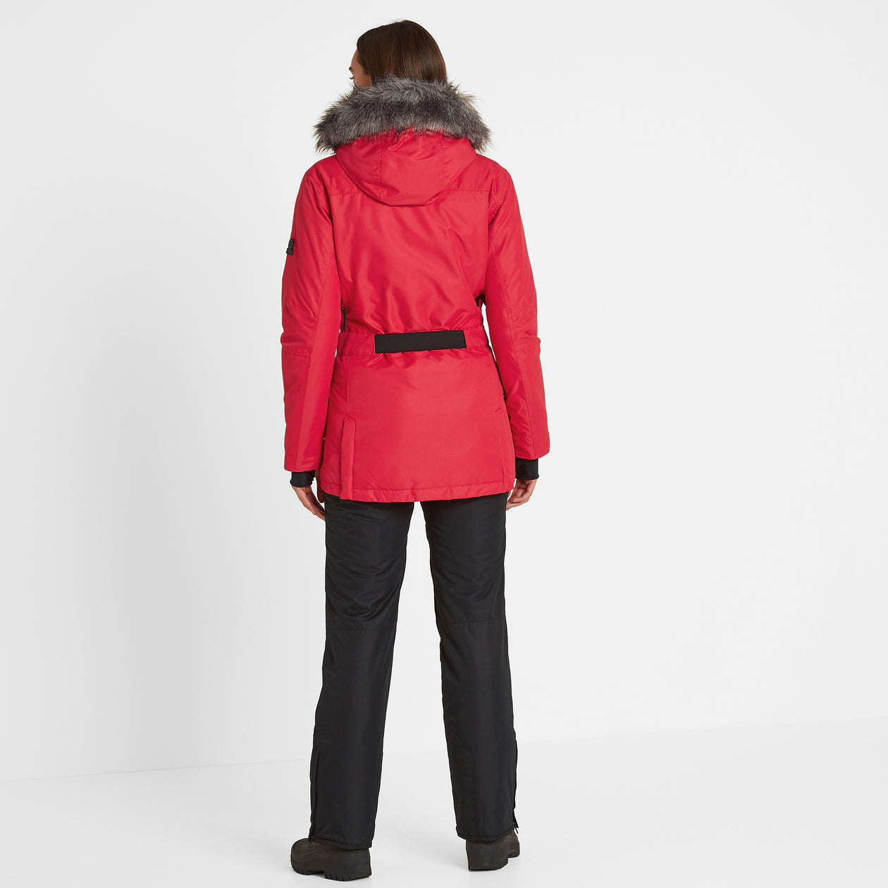Aria Womens Waterproof Insulated Ski Jacket - Rouge image 4
