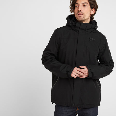 Bairstow Mens Waterproof Jacket - Black