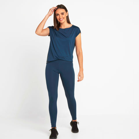 Balby Womens Leggings - Atlantic Blue