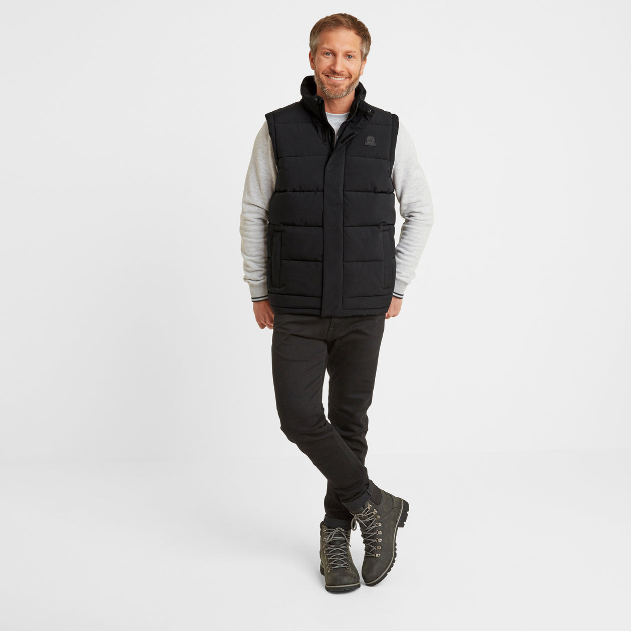 Barmston Mens Insulated Gilet - Black image 4