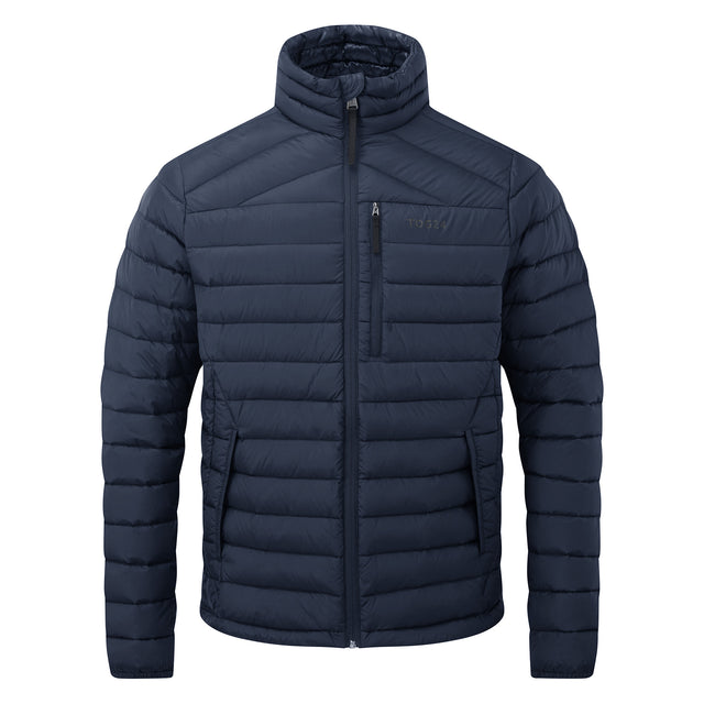 Base Mens Funnel Down Jacket - Dark Indigo image 6