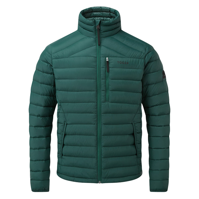 Base Mens Funnel Down Jacket - Forest image 5