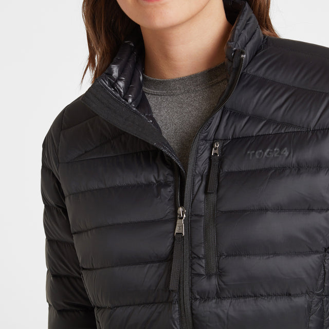 Base Womens Funnel Down Jacket - Coal Grey image 5