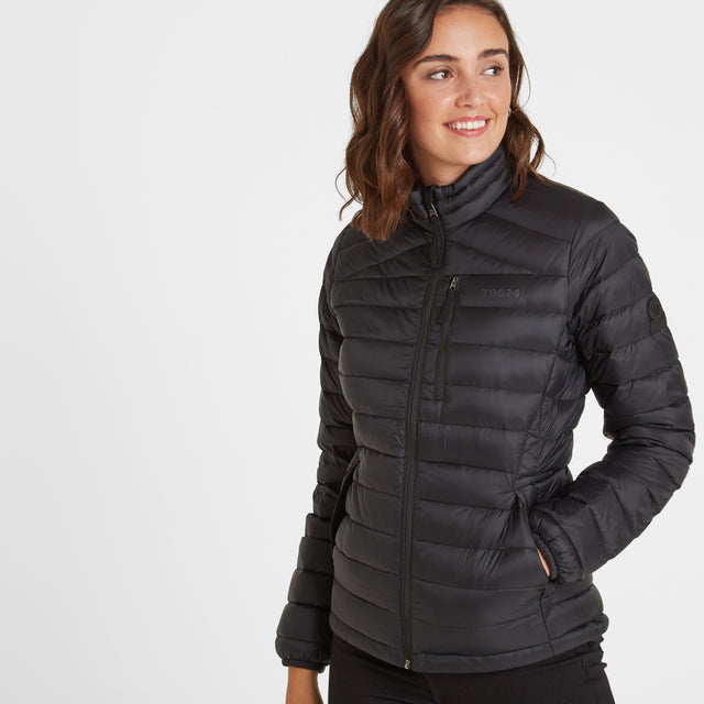 Base Womens Funnel Down Jacket - Coal Grey image 1