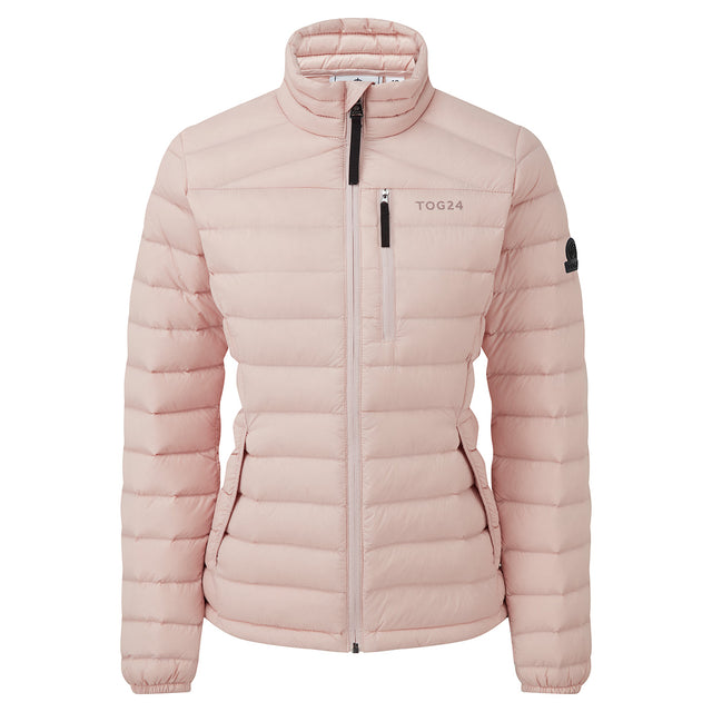 Base Womens Funnel Down Jacket - Rose Pink image 6