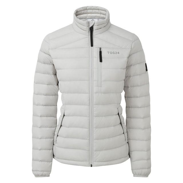 Base Womens Funnel Down Jacket - Ice Grey image 6