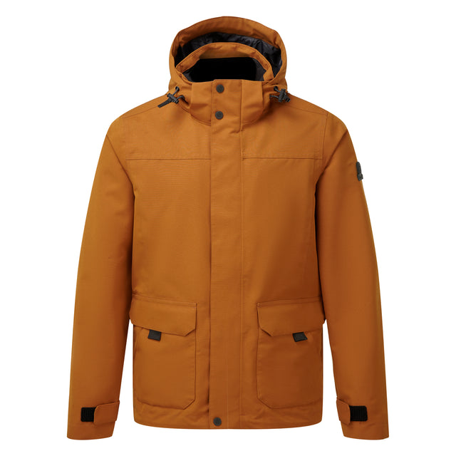 Beamsley Mens Waterproof Jacket - Amber image 5