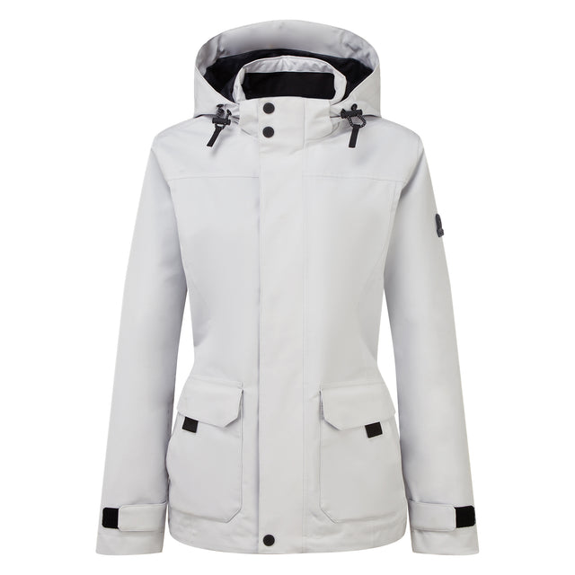 Beamsley Womens Waterproof Jacket - Ice Grey image 7