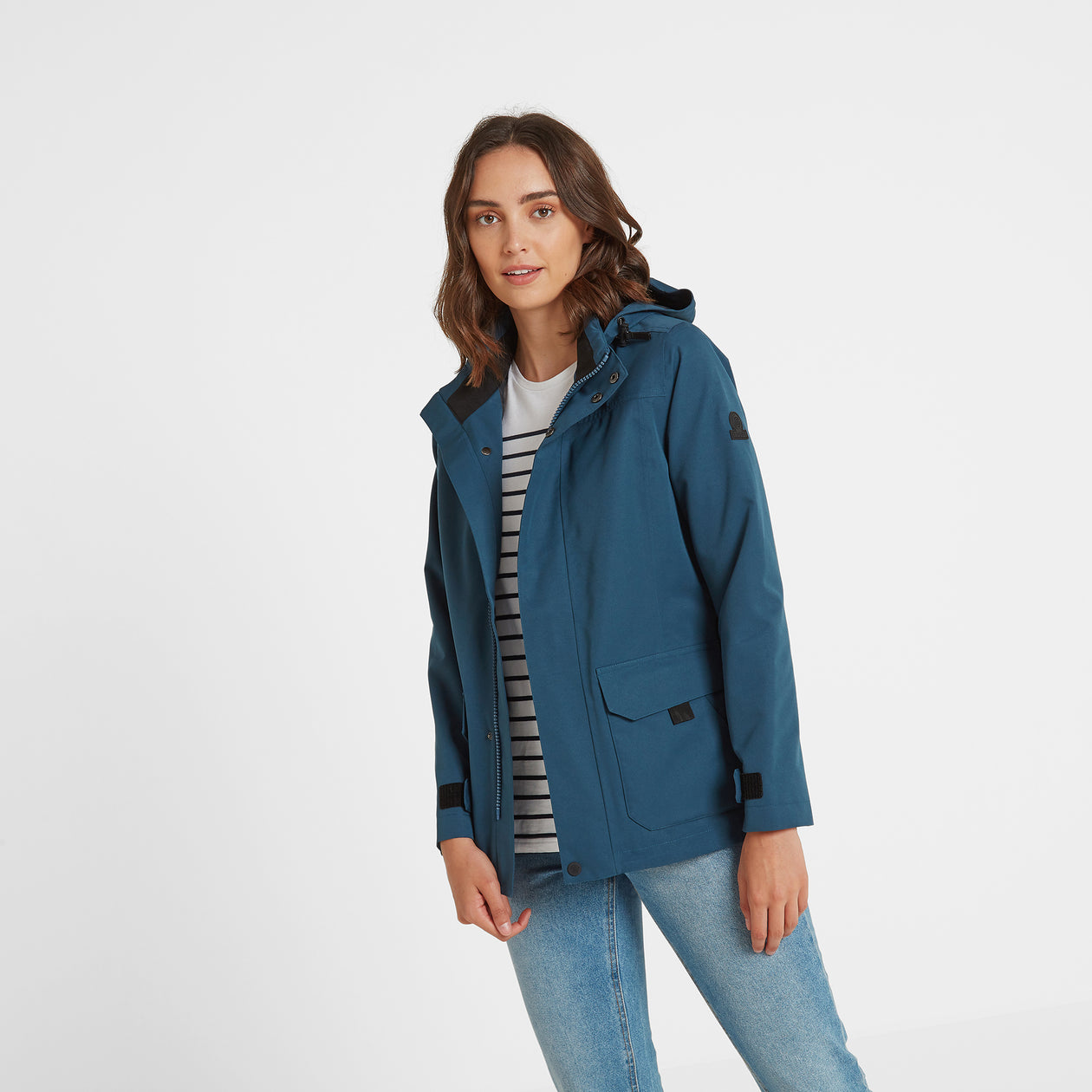 Beamsley Womens Waterproof Jacket - Atlantic Blue image 4