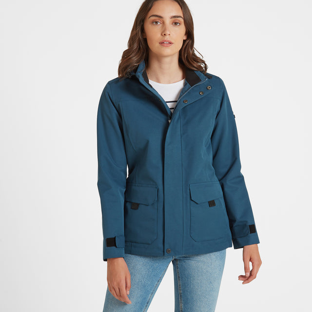 Beamsley Womens Waterproof Jacket - Atlantic Blue image 1
