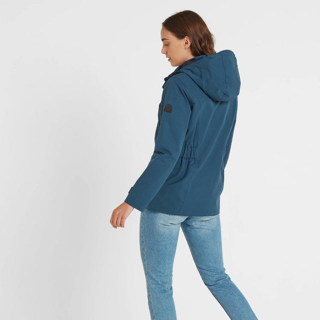 Beamsley Womens Waterproof Jacket - Atlantic Blue image 3
